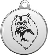 Keeshond Tommy Tag K007