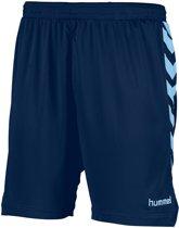 Hummel Burnley Voetbal Short - Shorts  - blauw donker - 140