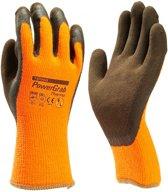 Towa powergrab thermo winter werkhandschoenen microfinish latex coating - maat M/8 -