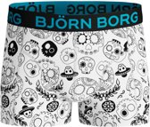 Bjorn Borg - Jongens Giftpack Sammy Boxershort Wit Zwart Blauw - 134/140