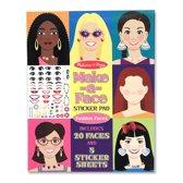Melissa & Doug - Make-A-Face Sticker Pad