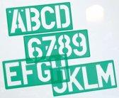 Linex Lettersjabloon 50mm