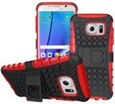 Samsung Galaxy S7 Edge G935 Schokbestendige Back Cover Rood