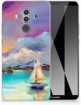 Huawei Mate 10 Pro Uniek TPU Hoesje Boat