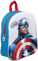 Marvel The Avengers Assemble - Captain America - 3D Rugzak - Afmetingen: 25x35x10 cm