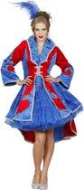 Dans & Entertainment Kostuum | Jas Fleur De Lis Bernadette Vrouw | Maat 46 | Carnaval kostuum | Verkleedkleding