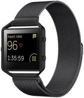 watchbands-shop.nl Milanees bandje - Fitbit Blaze - Zwart