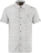 Eider Dartmoor Print Men - heren - blouse korte mouwen - grijs - maat XL
