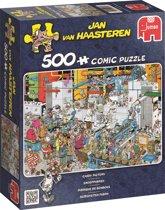 Jan van Haasteren Snoepfabriek - Puzzel 500 stukjes