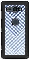 Xperia XZ2 Compact Hardcase Hoesje Art Lines