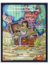 Eleanor and Pickles Scuba Adventures Coloring Book: Under the Sea, Fishes, Diving Whimsical Big Eye Fun Coloring Book