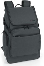 Gabol - 15,6 inch Laptop Backpack - Baltic - antraciet