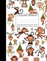 Composition Notebook College Ruled 8.5 Inch X 11 Inch