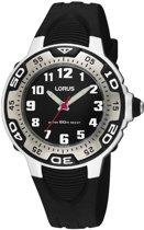 Lorus Rg233Gx9 kinderhorloge - Siliconen - 35 mm - Zwart