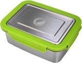 Ecotanka RVS Lunchbox 2L - Groen