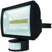 Solar theLeda E20 BK - LED straler - zwart - 20w - met bewegingssensor