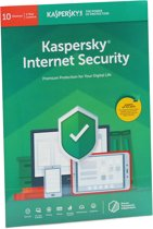 Kaspersky Internet Security | 10 Apparaten | 1 Jaar | Engelse verpakking | Alle Europese talen