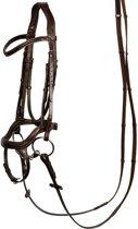 Harry's Horse Hoofdstel Anatomic COB bruin