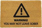 CKB - Deurmat - Je mag niet nuchter vertrekken - Kokosvezel