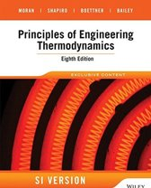 Fundamentals of Engineering Thermodynamics, 8E International Student Version