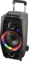 NGS WILD DISCO - Bluetooth Speaker - 80W - Draagbaar - Draadloos - Zwart