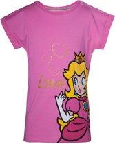 Nintendo - Love Princess Peach Glitter T-shirt