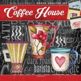 Coffee House Coaster Set 2020 Square Hopper