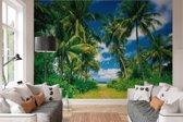 Tropisch eiland  - Fotobehang 366 x 254 cm