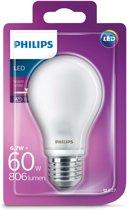 Philips LED lamp E27 6,7W (60W) 2700K 806lm mat