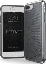 X-Doria Defense Lux cover - grijs - voor iPhone 7 Plus en iPhone 8 Plus - one part