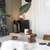 Tableau Donker Hout | Center Piece Tafel Handgemaakt