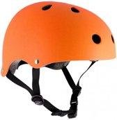 Sfr Skatehelm Essentials Mat Oranje Maat 57/59 Cm