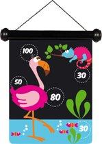 Scratch Spel Darts small Zoo magnetisch - 24x30 cm - 2-zijdig bedrukt