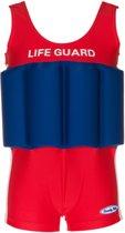 Beverly Kids UV drijfpakje Kinderen Life Guard - Rood - Maat 104