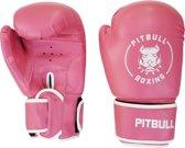 Pitbull Boxing - Bokshandschoenen - Easy Strap- PU pink - OZ 12