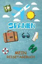 Spanien Reisetagebuch: Gepunktetes DIN A5 Notizbuch mit 120 Seiten - Reiseplaner zum Selberschreiben - Reisenotizbuch Abschiedsgeschenk Urlau