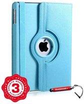 iPad Air 1 hoes lichtblauw met extra stabiliteit, kleurvastheid en uitschuifbare Hoesjesweb stylus