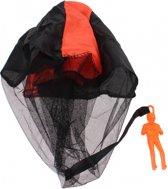 Johntoy Parachutespringer 9 Cm Oranje