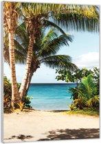 Plexiglas –Strand– 40x60cm (Wanddecoratie op Plexiglas)