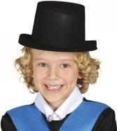 Zwarte goochelaars hoed voor kinderen