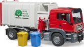 Bruder MAN TGS vuilniswagen met zijlader