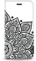 Casetastic Wallet Case White Samsung Galaxy J6 (2018) - Floral Mandala