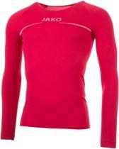 Jako Shirt Comfort LM Heren Sportshirt - Maat L  - Mannen - rood