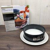 Springvorm met serveer taartbord - Direct vanuit de oven op tafel – diameter springvorm 20 cm
