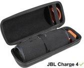 Charge 4 Hoes + ophanglus! , specifiek voor De JBL charge 4 Bluetooth Speaker - Speakerhoes Hoes Hoesje Travel Hard Case Zwart Beschermhoes C4