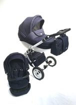P'tit Chou Trento sport Kinderwagen - Buggy Stof - Blauw  - Gratis accessoires