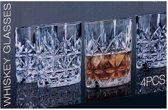 Whiskey glazenset - 4 stuks