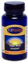 Toppharm Super Multi Compleet - 60 Tabletten -  Multivitamine