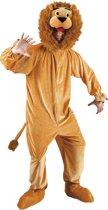 Pluche Leeuw Mascotte - Kostuum - Maat XL