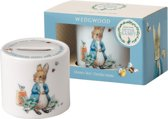 Wedgwood Peter Rabbit Spaarpot jongen - porselein